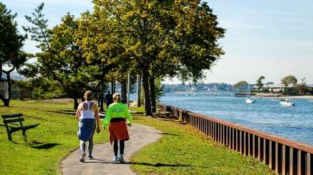 A recent water quality study said Manhasset Bay,
