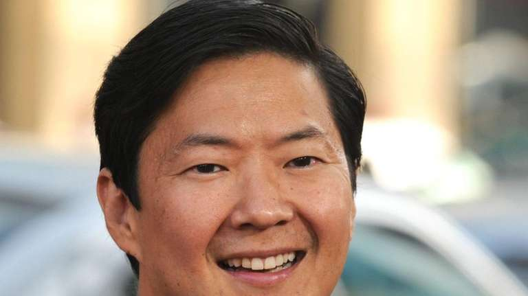 Cast member Ken Jeong arrives for the premiere