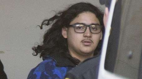 Christian Arevalo leaves the Nassau County Courthouse on