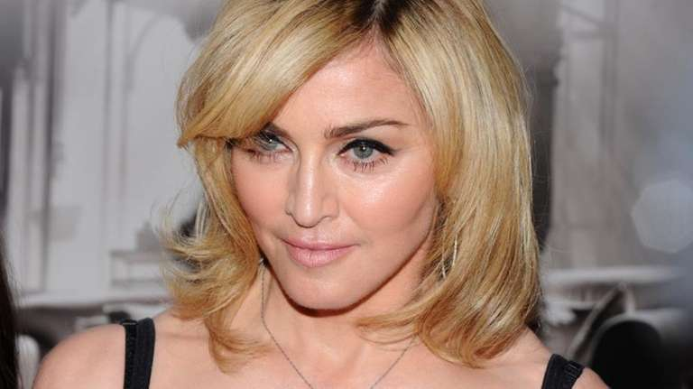 Entertainer Madonna attends a premiere of