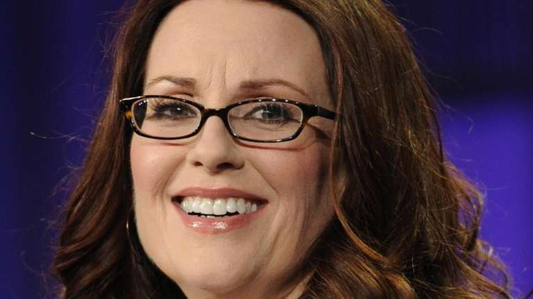 Actress Megan Mullally participates in a panel discussion