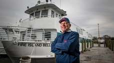 Fire Island Ferries president Tim Mooney at their