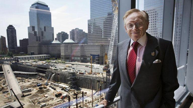World Trade Center developer Larry Silverstein in his