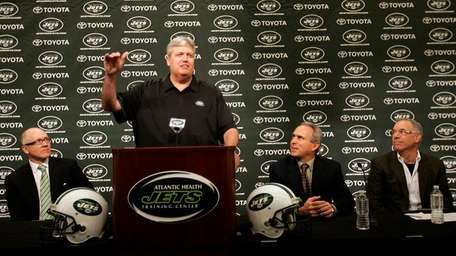 Jets head coach Rex Ryan comments as team