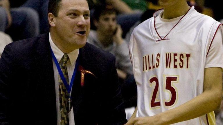 Half Hollow Hill West's Tyler Harris gets encouragement