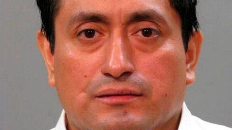 Carlos F. Ruiz-Mendoza, 42, of Lawrence, was arrested