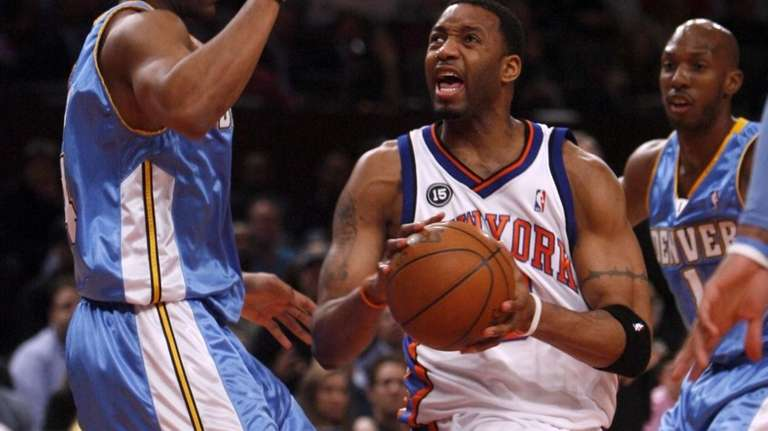 Tracy McGrady says the Knicks are not planning