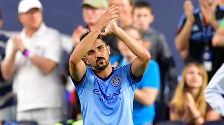 David Villa #7 of New York City FC