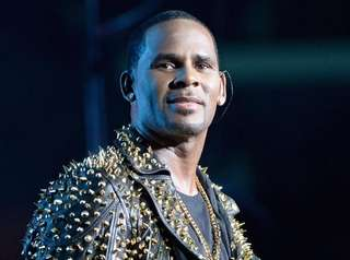 R. Kelly performs at the BET Experience at