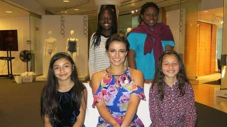 ESPN announcer and Paralympic athlete Victoria Arlen with