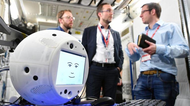 CIMON is the world's first flying, autonomous astronaut