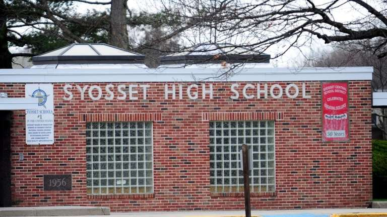Syosset High School was closed after asbestos was