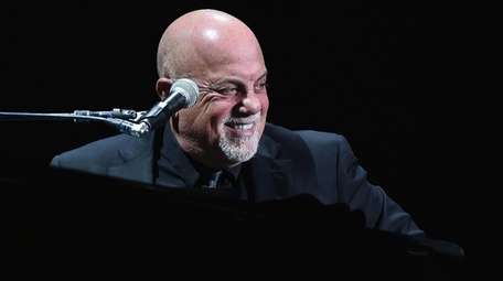 Billy Joel at an April 2017 Madison Square