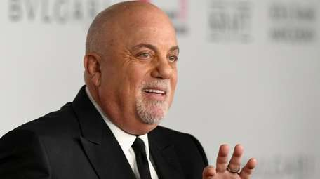 Billy Joel attends the Elton John AIDS Foundation's