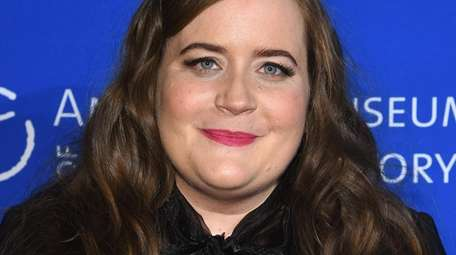 Aidy Bryant at the 2017American Museum Of Natural