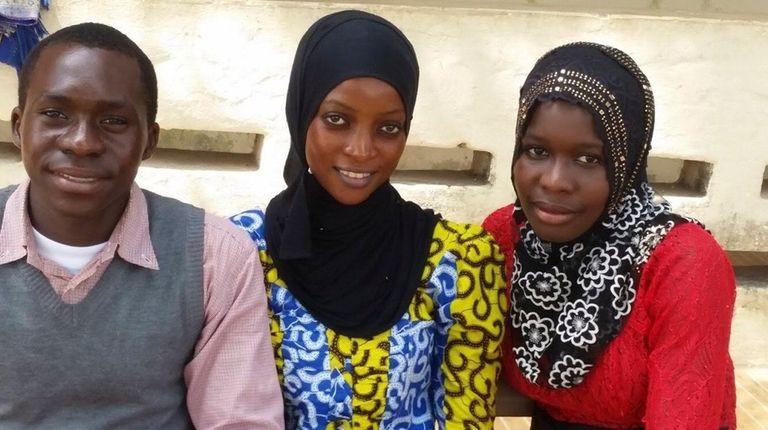 Ashleigh DeLuca has been helping Gambian students Adama