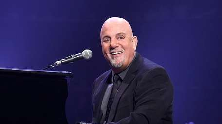 Billy Joel performing at Madison Square Garden in