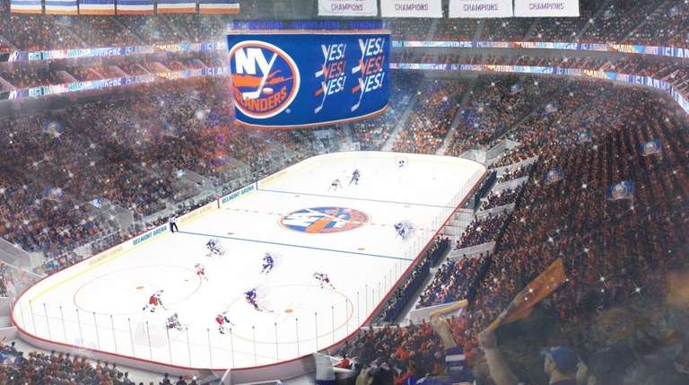 Islanders Arena At Belmont Park Set To Start On Schedule