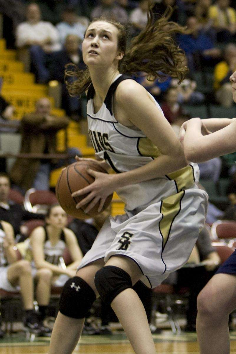 St. Anthony's Michele Impellizeri goes up for a