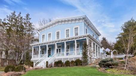 This Northport Victorian overlooks Northport Harbor.