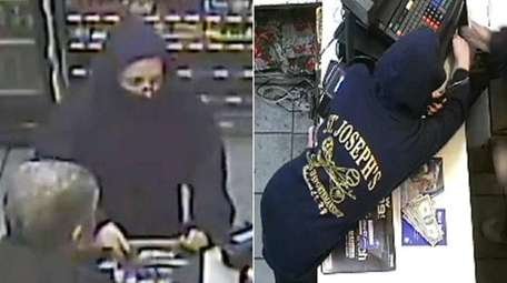 Suffolk County police released surveillance photos on Tuesday