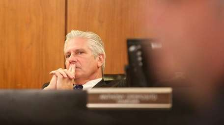 Hempstead Councilman Bruce Blakeman, seen here on Nov.