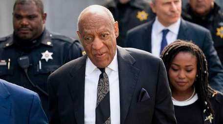 Bill Cosby following his conviction of sexual assault.