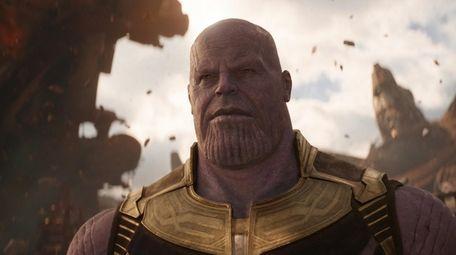 Josh Brolin stars as Thanos in Marvel Studios'