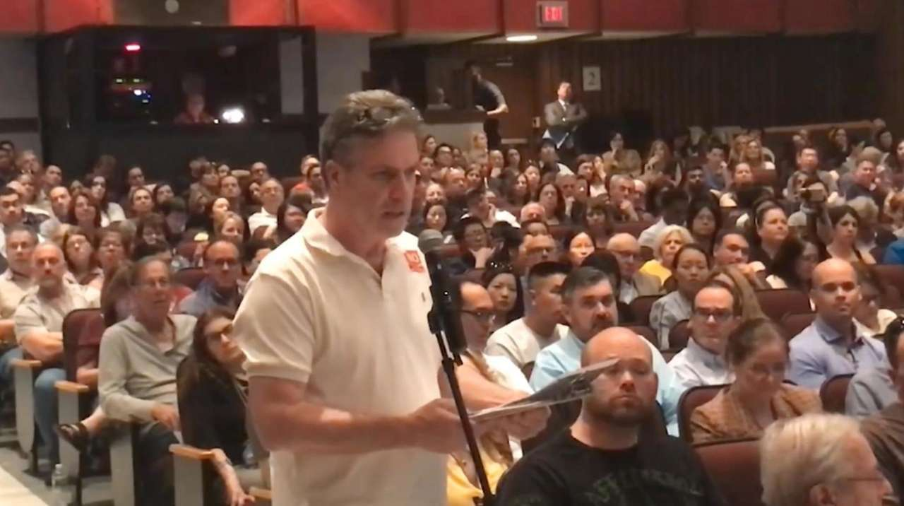 Audience members packed a 6-hour public hearing Tuesday