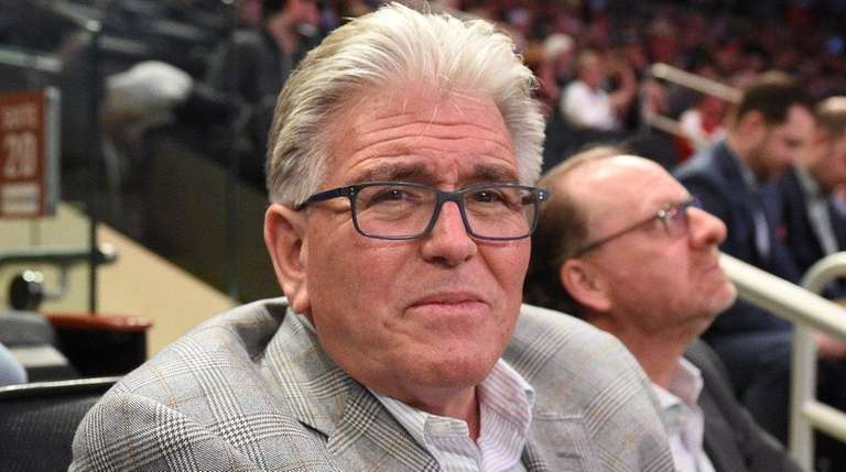 Mike Francesa watches St. John's play Xavier in
