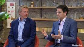 Long Island's Ralph Macchio and William Zabka, co-stars