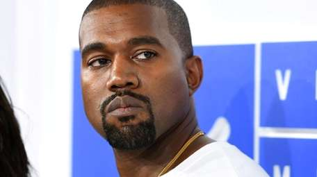 Kanye West at the 2016 MTV Video Music