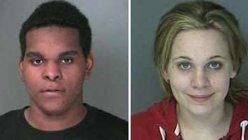 Dalshawn Artis, 20, and Sarah Zarba, 19, both