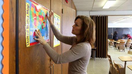 Nancy Febberaro, a third grade teacher at the