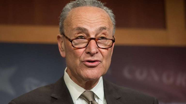 Sen. Chuck Schumer, seen here on March 22,