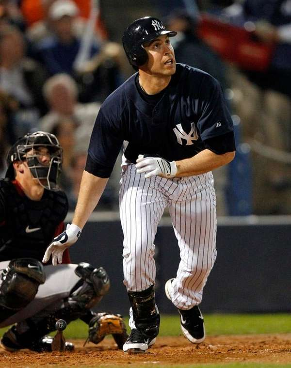 Yankees first baseman Mark Teixeira left Monday night's