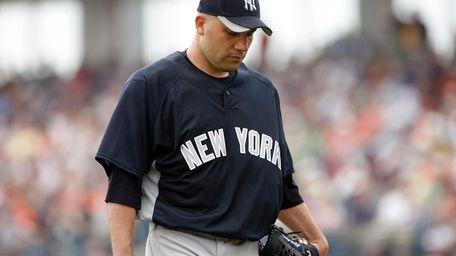 Yankees' relief pitcher Alfredo Aceves. (Mar. 25, 2010)