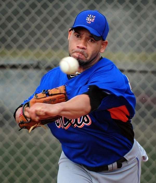 PEDRO FELICIANO Relief pitcher, 33, eighth year with