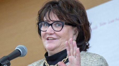 State Education Commissioner MaryEllen Elia addresses teachers at