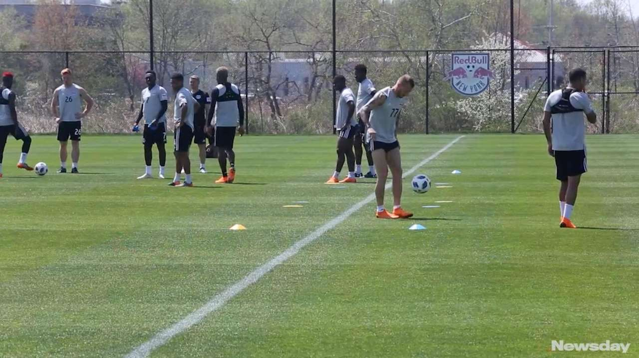 The New York Red Bulls will face NYCFC