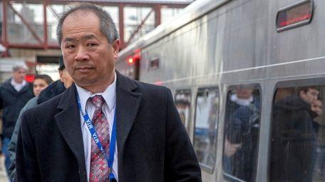 LIRR president Phillip Eng vowed to improve LIRR