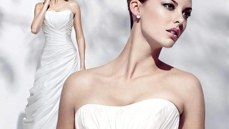 Simone Carvalli's new 2010 bridal collection will be