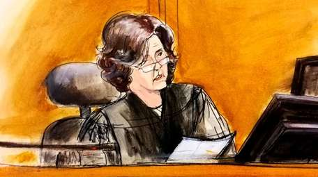 In this April 16 courtroom sketch, U.S. District