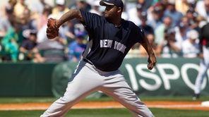 CC Sabathia #52 of the New York Yankees