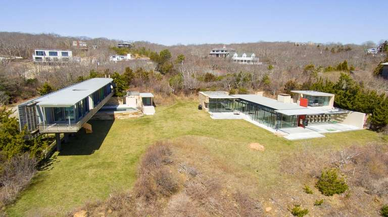 This oceanfront Montauk property is listed for $21