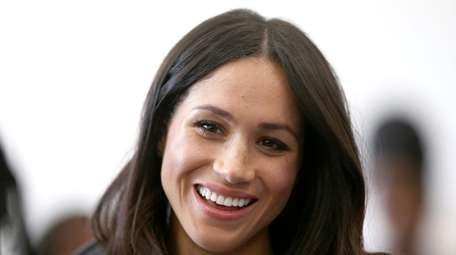 Meghan Markle at an April 2018 reception for