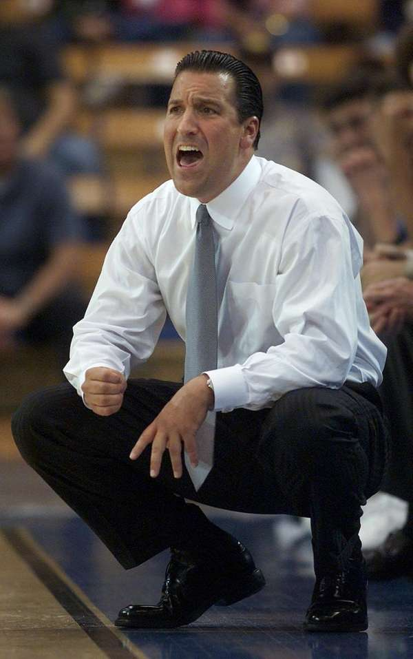 UCLA coach Steve Lavin yells to his team