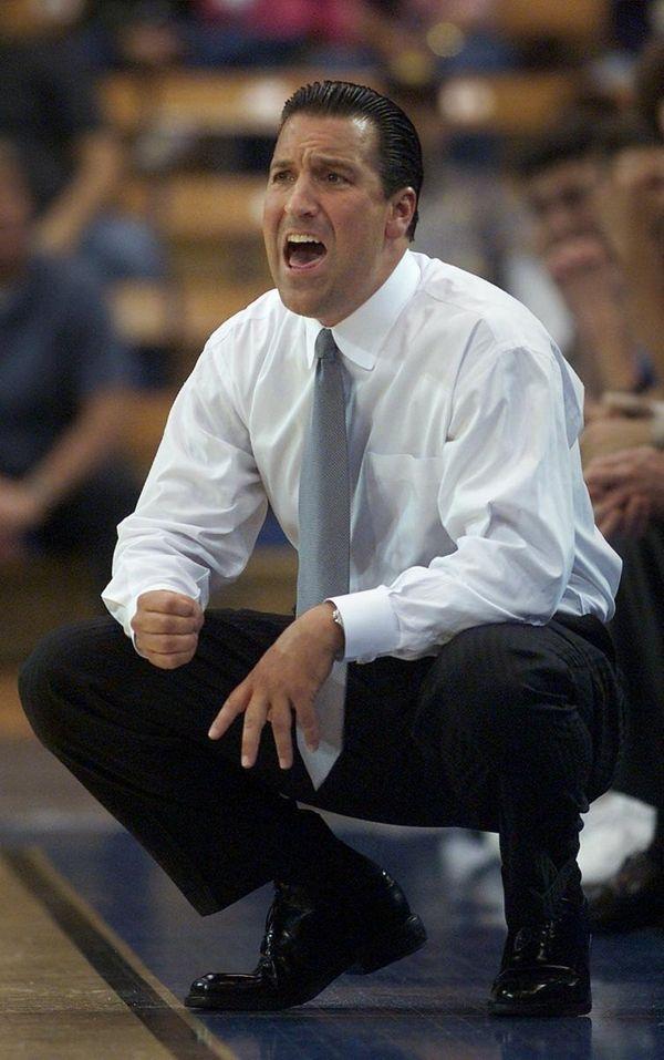 UCLA coach Steve Lavin yells to his team