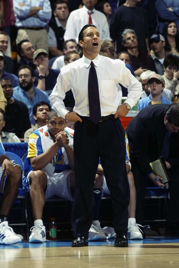 Head coach Steve Lavin of the UCLA Bruins