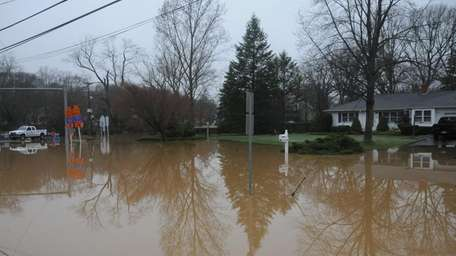 Severe flooding of over a foot of water